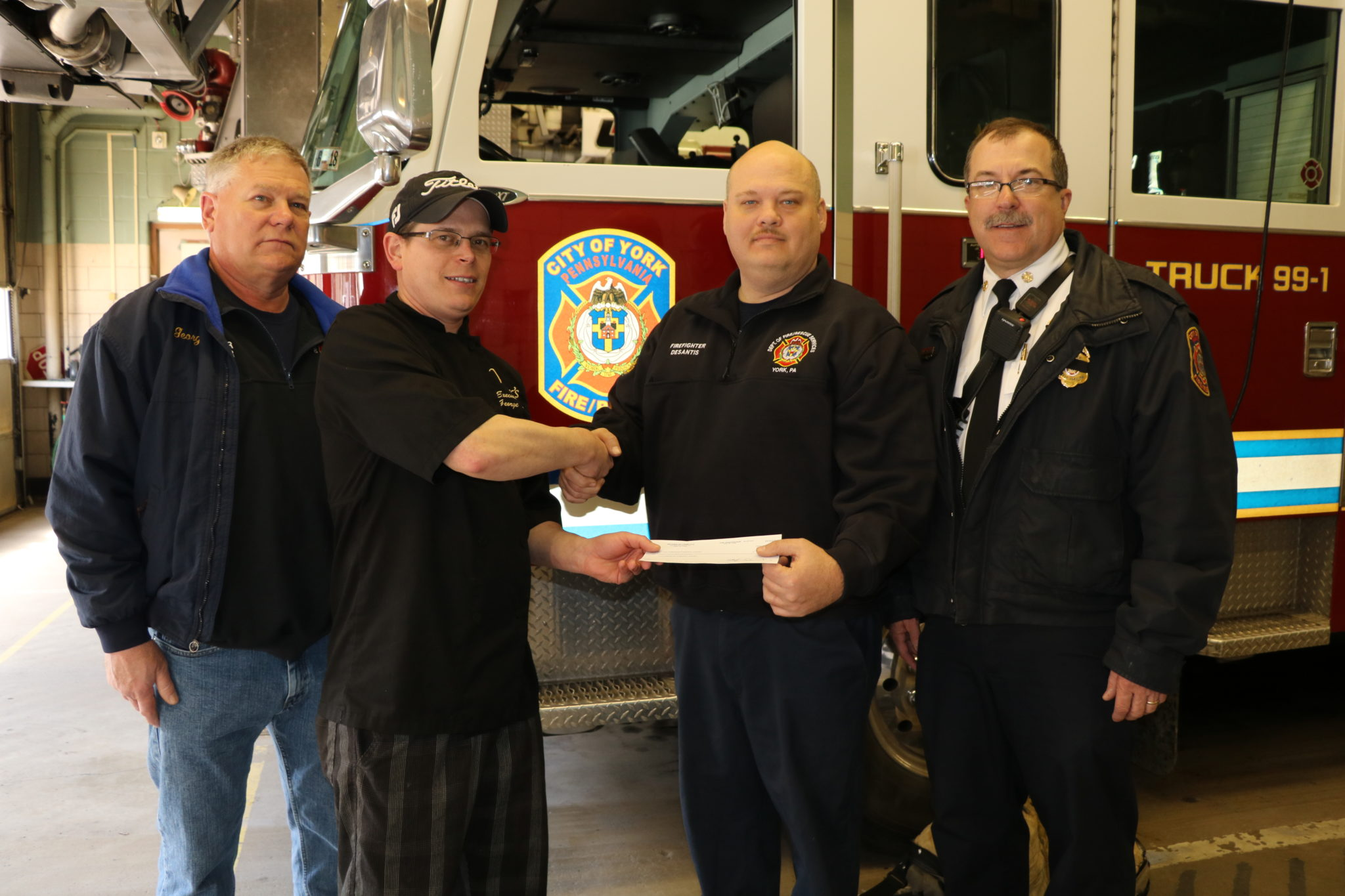 """Dine and Donate"" for York City Fire"
